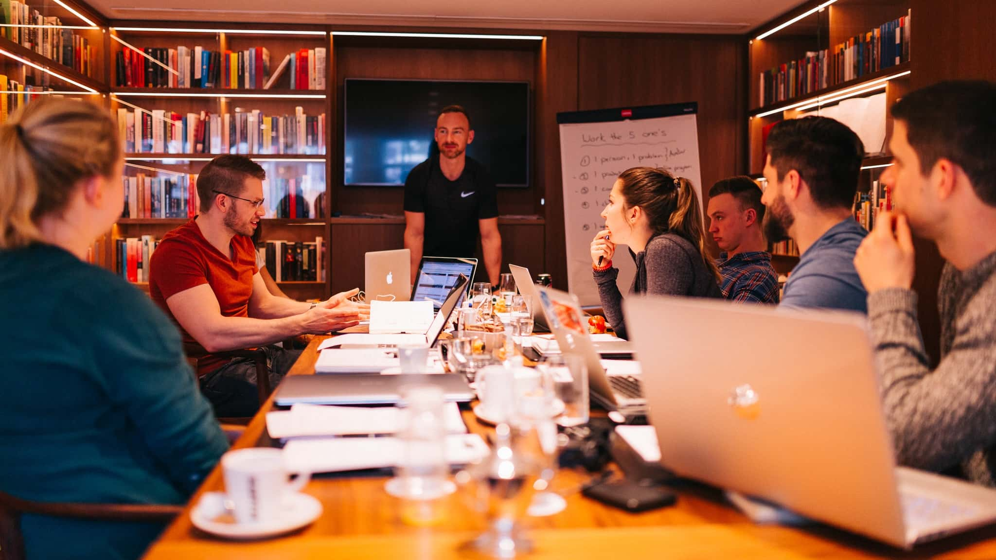 A photo of Online Personal Trainers Attending a Online Marketing Mastermind in Amsterdam